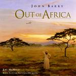 John Barry - Out of Africa soundtrack CD cover