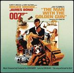 John Barry: The Man with the Golden Gun soundtrack CD cover