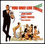 John Barry: You Only Live Twice soundtrack CD cover