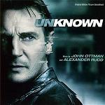 John Ottman and Alexander Rudd: Unknown - soundtrack CD cover