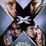 John Ottman: X-Men 2 - soundtrack CD cover