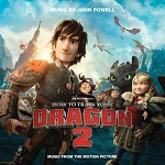 John Powell: How to Train Your Dragon 2 - CD cover