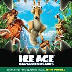 John Powell - Ice Age 3: Dawn of the Dinosaurs soundtrack CD cover
