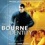 John Powell - The Bourne Identity soundtrack CD cover