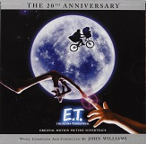 John Williams - ET The Extra-Terrestrial 20th Anniversary Special Edition soundtrack CD cover