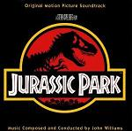 John Williams - Jurassic Park soundtrack CD cover