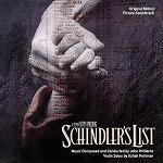 John Williams - Schindler's List soundtrack album CD cover