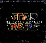 John Williams - Star Wars: The Force Awakens - film score CD cover