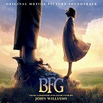 John Williams: The BFG - film score album cover