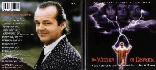 John Williams: Witches of Eastwick - film score soundtrack expanded edition CD cover