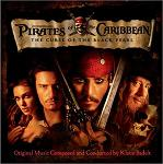 Klaus Badelt - Pirates of the Caribbean soundtrack CD cover