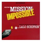 Lalo Shifrin - Music from Mission Impossible soundtrack CD cover