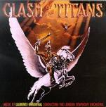 Laurence Rosenthal - Clash of the Titans soundtrack CD cover