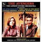 Laurie Johnson - The Avengers and Others CD cover