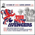 The Music of Laurie Johnson Vol 3 - The New Avengers CD pack cover
