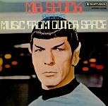 Leonard Nimoy: Mr Spock presents Music from Outer Space - album cover