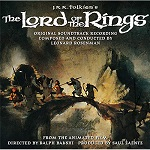 Leonard Rosenman - The Lord of the Rings soundtrack CD cover