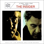 Lisa Gerrard and Pieter Bourke: The Insider soundtrack CD cover