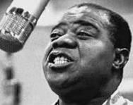 Louis Armstrong, who sang We Have All the Time in the World