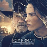 Marco Beltrami: The Homesman - film score soundtrack album cover