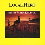 Mark Knopfler: Local Hero - film score soundtrack CD cover