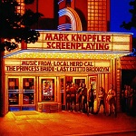 Mark Knopfler: Screenplaying - soundtrack CD album cover
