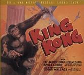 Max Steiner: King Kong - soundtrack CD cover