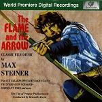 Max Steiner - The Flame and the Arrow soundtrack collection CD cover