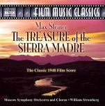 Max Steiner: The Treasure of the Sierra Madre - film score CD cover