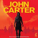Michael Giacchino: John Carter - soundtrack CD cover