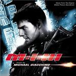 Michael Giacchino - Mission Impossible 3 soundtrack CD cover
