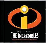 Michael Giacchino - The Incredibles soundtrack CD cover