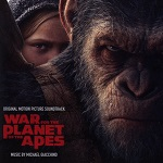 Michael Giacchino: War for the Planet of the Apes - film score album cover