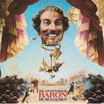 Michael Kamen : Baron Munchausen - soundtrack CD cover