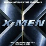 Michael Kamen : X-Men - soundtrack CD cover