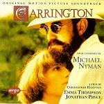 Michael Nyman : Carrington - soundtrack CD cover
