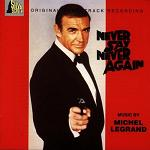 Michel Legrand - Never Say Never Again soundtrack CD cover