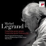 Michel Legrand: Piano and Cello Concertos - album cover