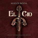 Miklos Rozsa: El Cid - Special Limited Collectors Edition CD box-set cover