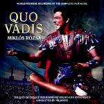 Miklos Rozsa: Quo Vadis - World Premiere Recording of the Complete Film Score, double-album CD cover