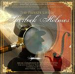 Miklos Rozsa: The Private Life of Sherlock Holmes soundtrack CD cover