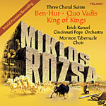 Miklos Rozsa: Three Choral Suites film music CD cover