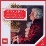 Wolfgang Amadeus Mozart: complete Piano Sonatas played by Christian Zacharias - 5 CDs box set cover