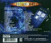 Murray Gold - Doctor Who Series 1 and 2 soundtrack CD reverse