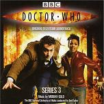 Murray Gold - Doctor Who Series 3 soundtrack CD cover