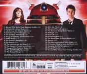 Murray Gold - Doctor Who Series 4 soundtrack CD back cover