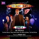 Murray Gold: Doctor Who Series 4 The Specials - soundtrack double-album cover