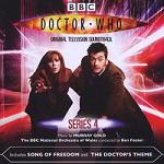 Murray Gold - Doctor Who Series 4 soundtrack CD cover