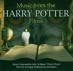 John Williams & Patrick Doyle: Music from the Harry Potter Films - Album CD cover