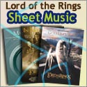 Lord of the Rings sheet music